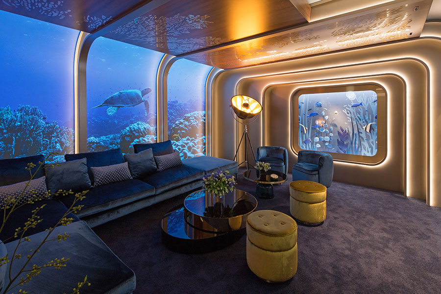 Oscars® Greenroom References Perpetual Planet Campaign As Rolex Showcases Interior Design For Fourth Year photo