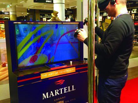 Dfx: Martell Cordon Bleu Limited Edition Digital Installation photo
