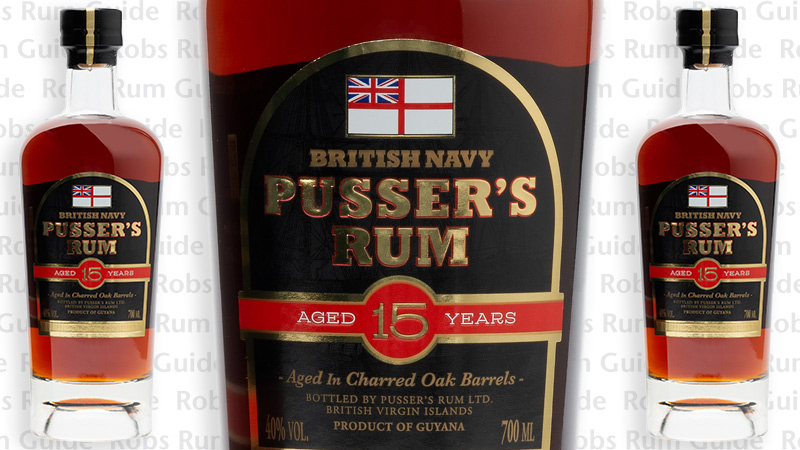 Pussers 15 Year Old Limited Edition Luxury Rum From Guyana photo
