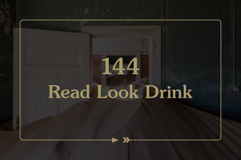 144. Read. Look. Drink. photo