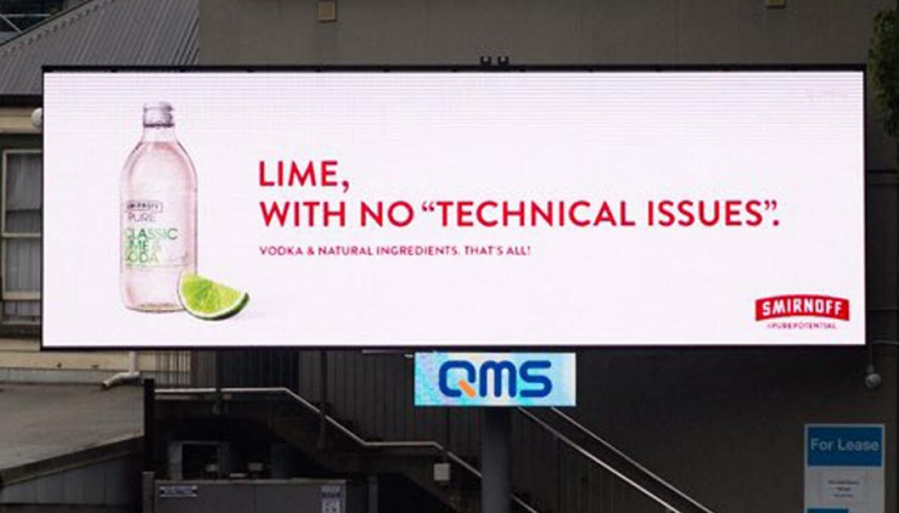 No 'technical Issues': Smirnoff Vodka's Cheeky Dig At Lime Ban photo