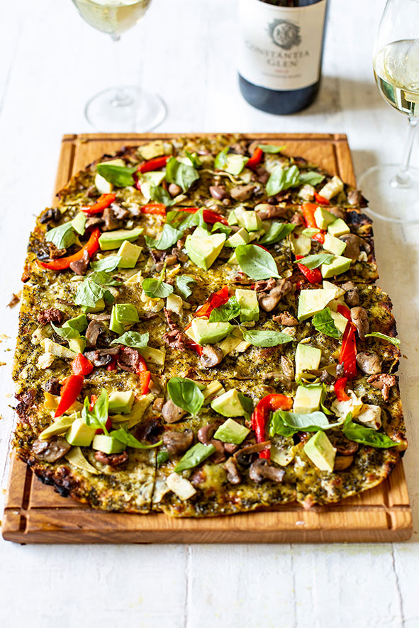 Constantia Glen Goes Green With Delicious Vegan Flammkuchen photo