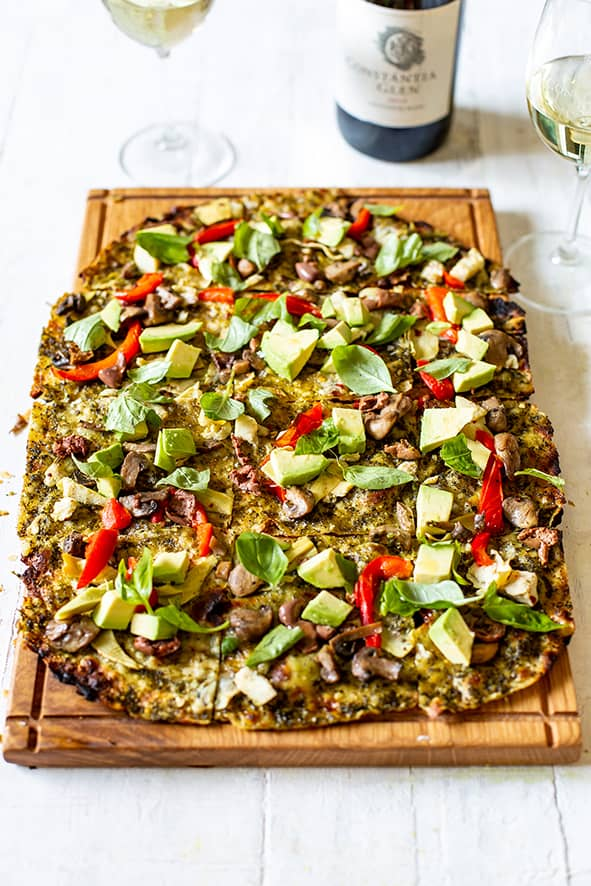 Constantia Glen Goes Green With Delicious New Vegan Flammkuchen photo