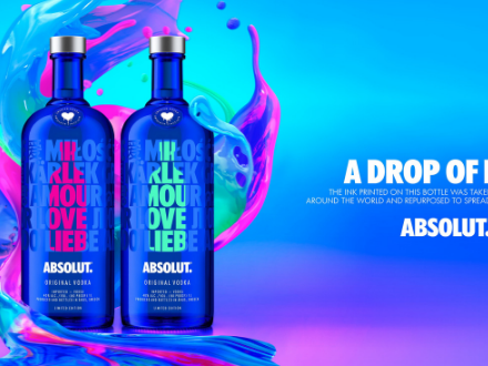 Pernod Ricard Looks To Spread A Little Love With Absolut Drop photo