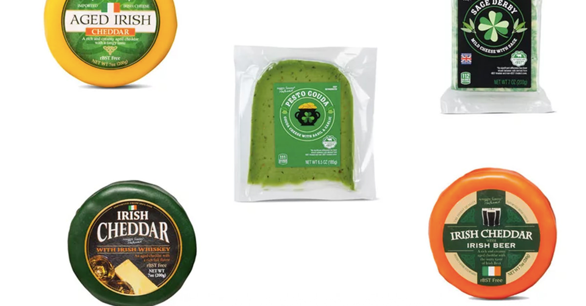Aldi's St. Patrick's Day Cheeses Are Booze-infused photo