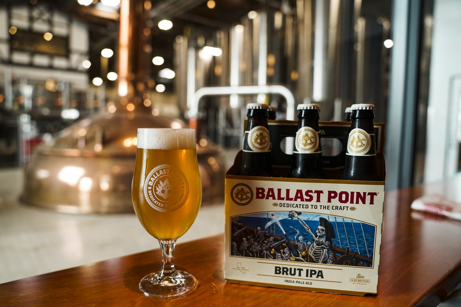 Constellation Brands Releases Ballast Point Passing Haze Ipa And Brut Ipa photo