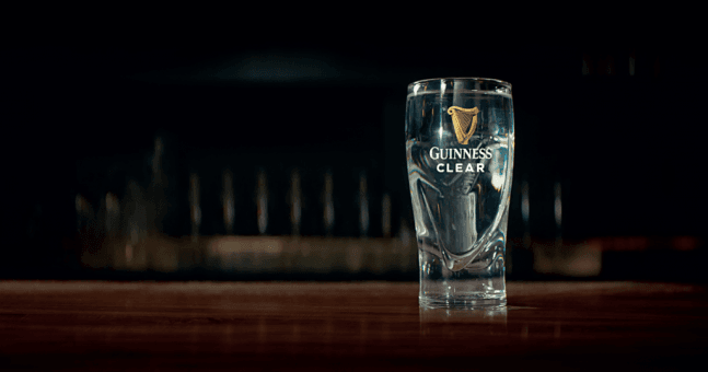 Beer Brand Launches 100% H20 'guinness Clear' Ahead Of Six Nations photo