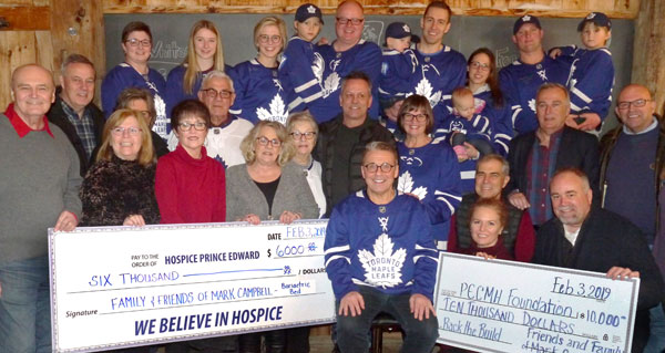 Community ?cheers For Grampy? With Donations To Hospital And Hospice photo