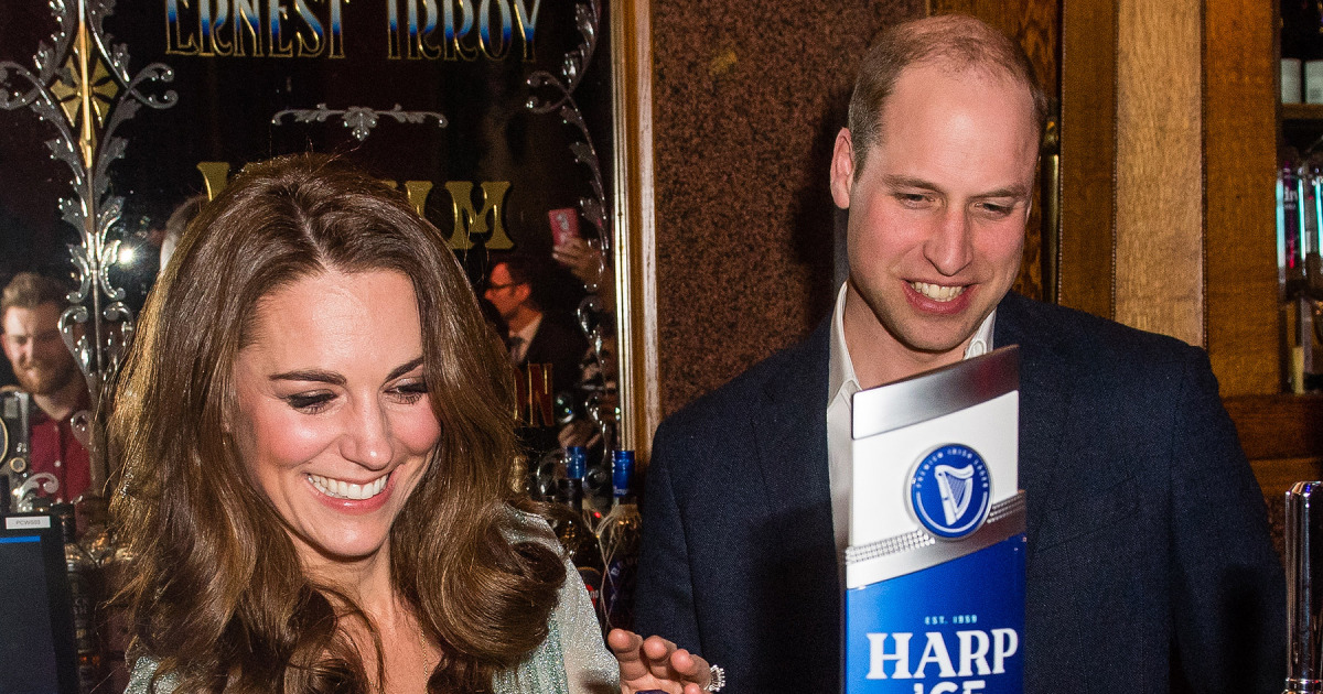Watch Kate Middleton And Prince William Serve Up Beers Behind The Bar At Belfast Music Hall photo