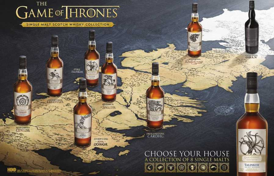 Diageo Launches Limited Edition ?game Of Thrones? Inspired Single Malt Whisky photo