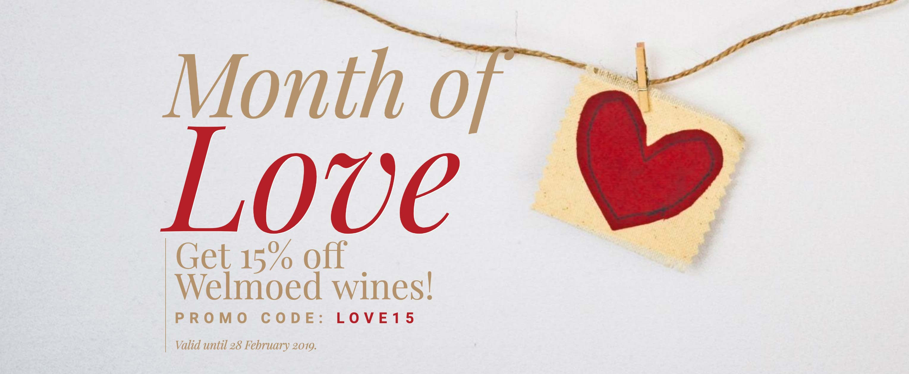 exclusive offer Plan the perfect Valentines Day with Stellenbosch Vineyards