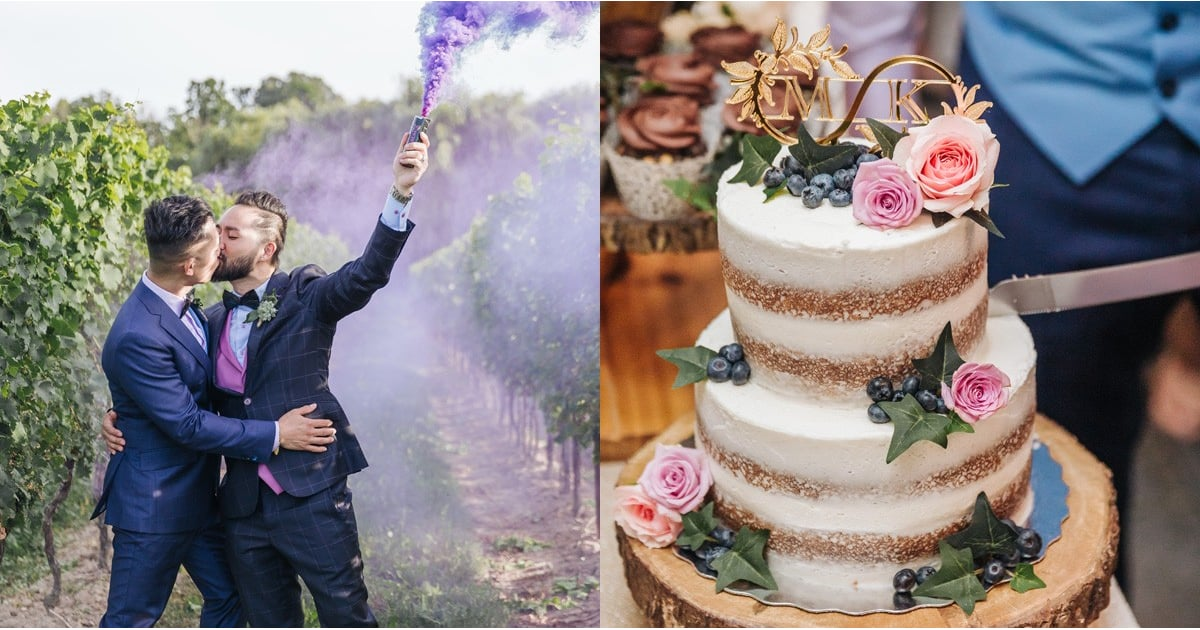 Here's How A Pair Of Globetrotters Added Some Wanderlust Into Their Outdoor Wedding photo