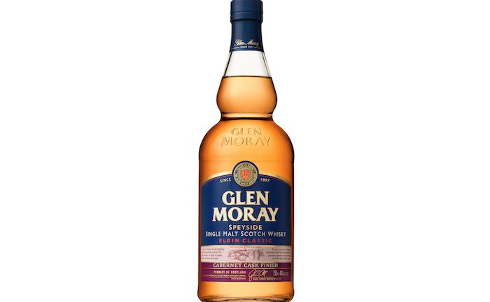 Glen Moray Releases Cabernet Cask Finished Scotch Single Malt photo