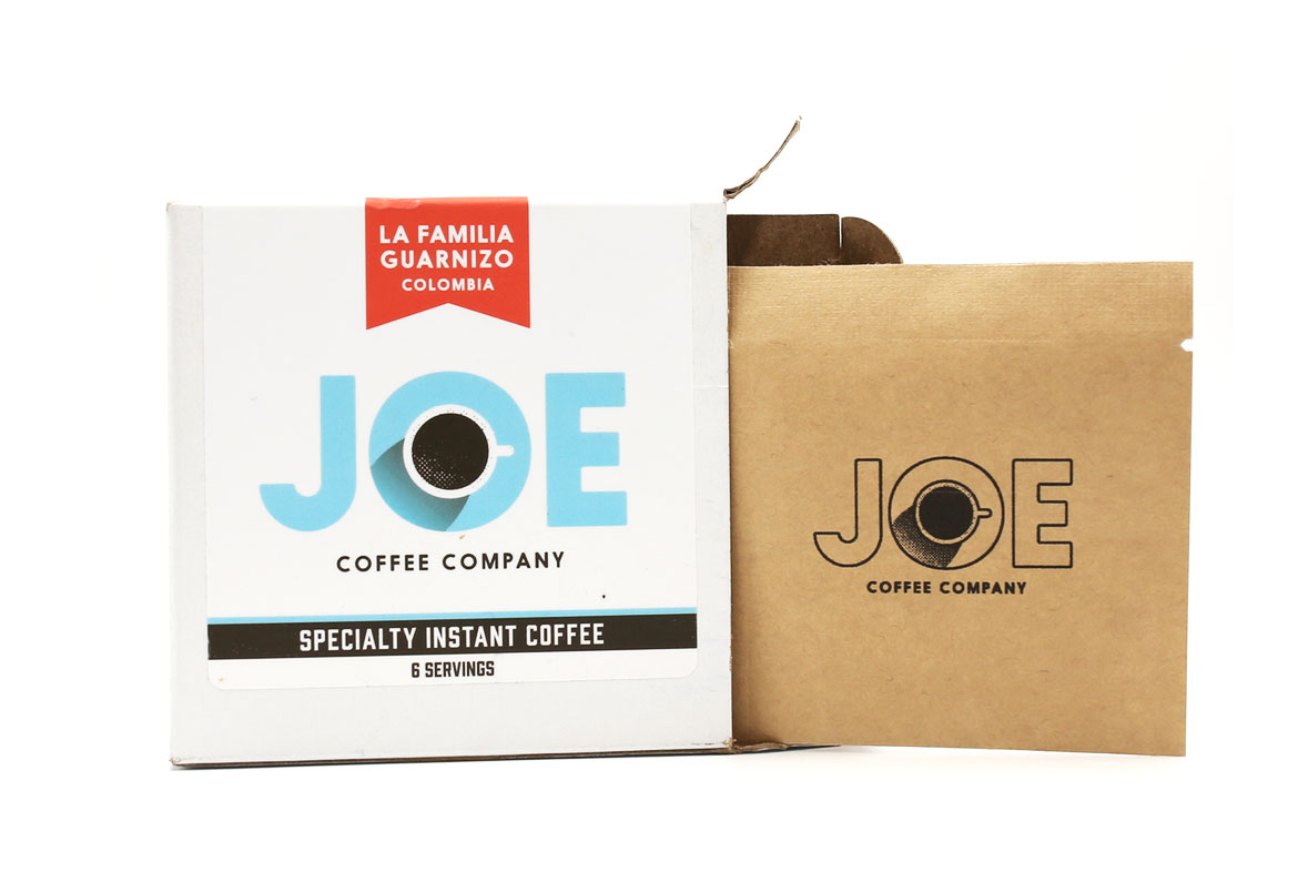 Coffee Design: Specialty Instant Coffee From Joe Coffee Company photo