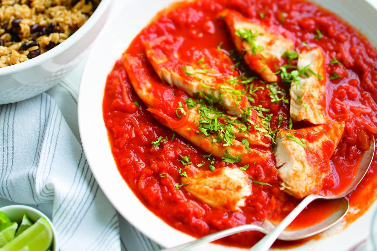 Fish Gets A Flavour Boost With Mexican-style Tomato Rice photo
