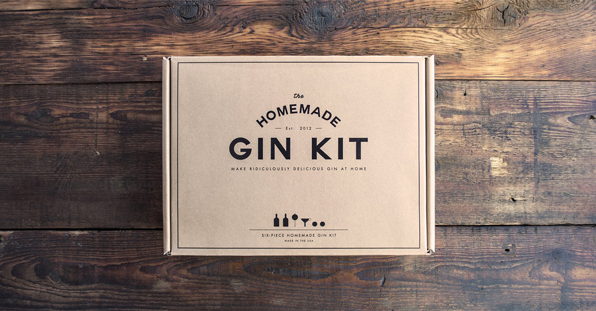 This Homemade Gin Kit Is A Must Have For Every Gin And Cocktail Lover photo