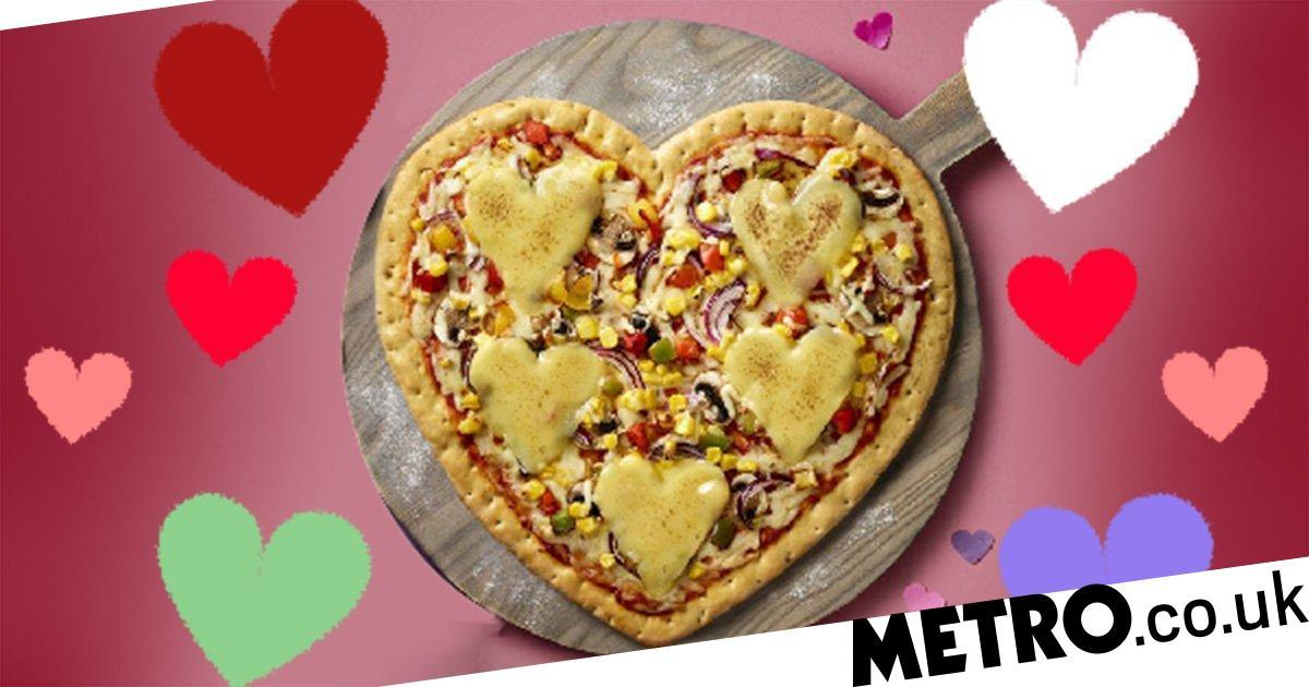 Asda Launches Heart-shaped Pizza For Valentine's Day photo