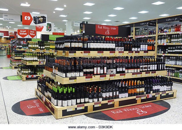 the wines section in a morrisons supermarket d3k9dk Supermarkets Top The Bill At UK Drinks Awards