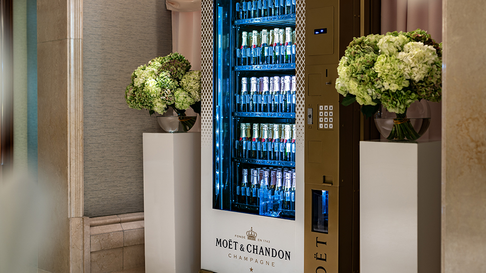 The Ritz Carlton In Naples Now Has A Vending Machine For Champagne photo