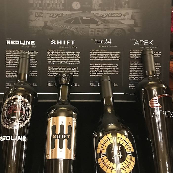 Pour Into High Gear With Grand Prix-themed Wines photo