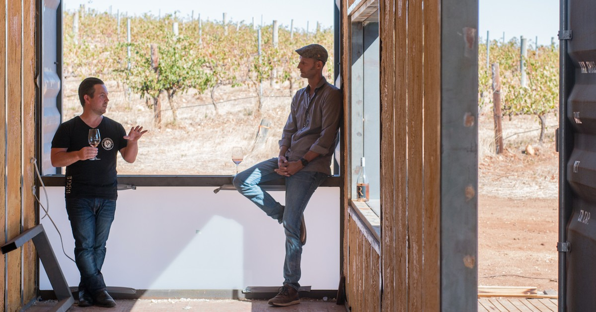 A Sustainable Shipping Container Cellar Door Is Coming To Mclaren Vale photo