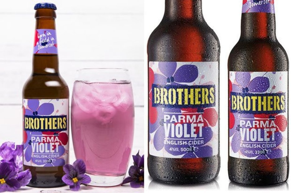 Brothers Cider Now Comes In Parma Violet Flavour And It Looks Amazing photo