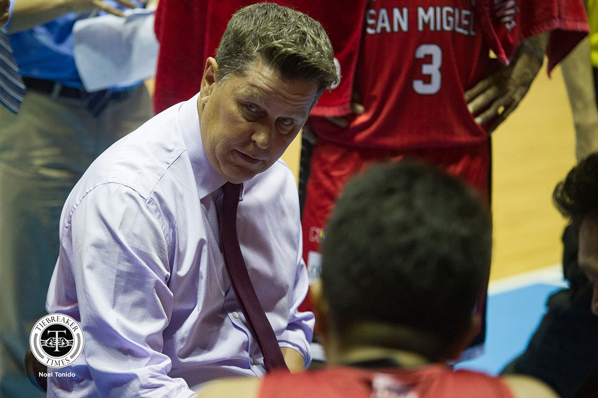 Food Poisoning Not A Hindrance For Ginebra In Facing Nlex photo