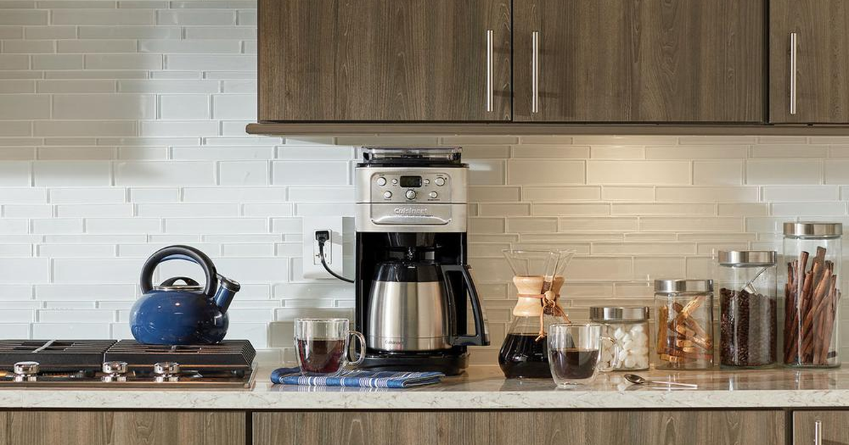 Cuisinart's Burr Grind And Brew Coffee Maker Is On Sale For $57 Off At Walmart photo