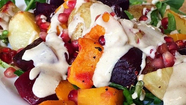#greenmondaysa: Hearty Veg Salad With Dressing photo