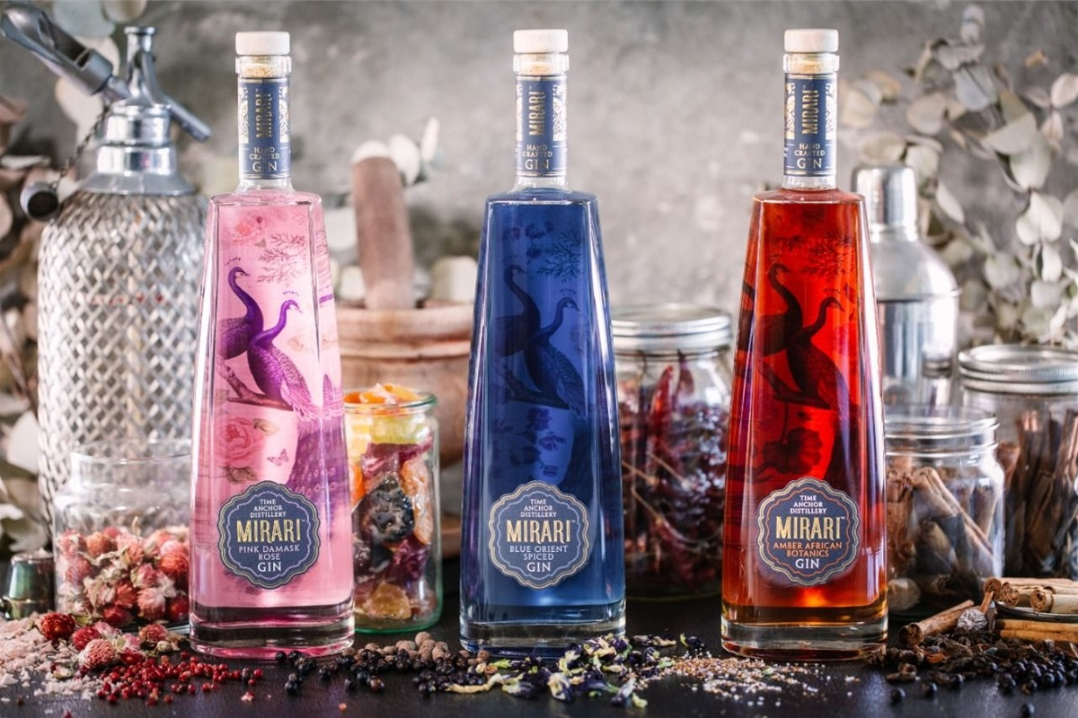 Decimal Agency Puts The Anchor On Mirari Gin photo