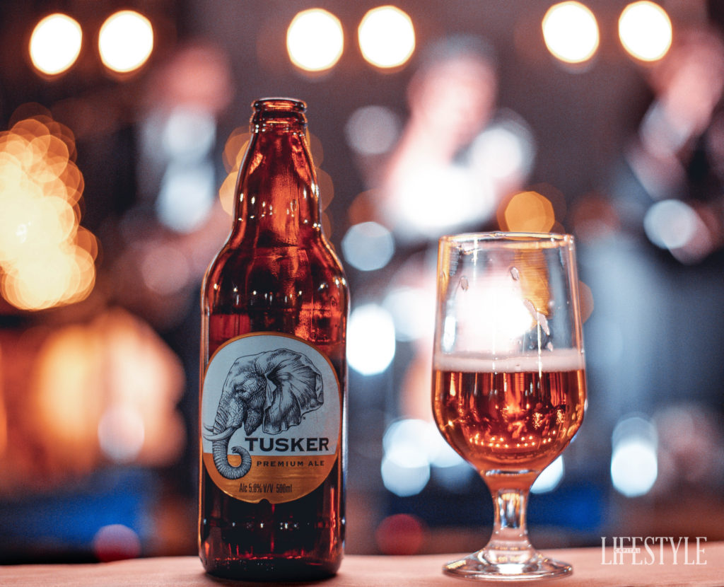 Tusker Family Has A New Baby, Tusker Premium Ale. photo
