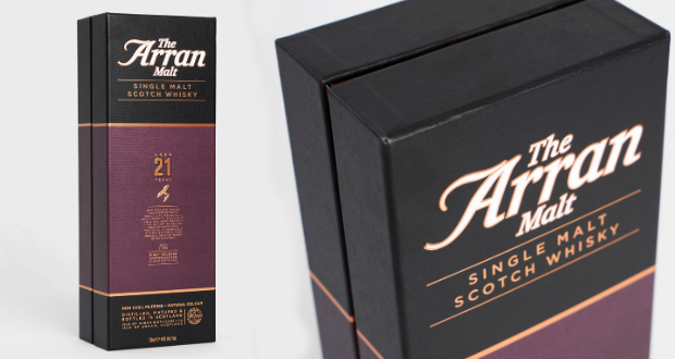 The Arran Malt 21yo: Packaged With Purpose photo