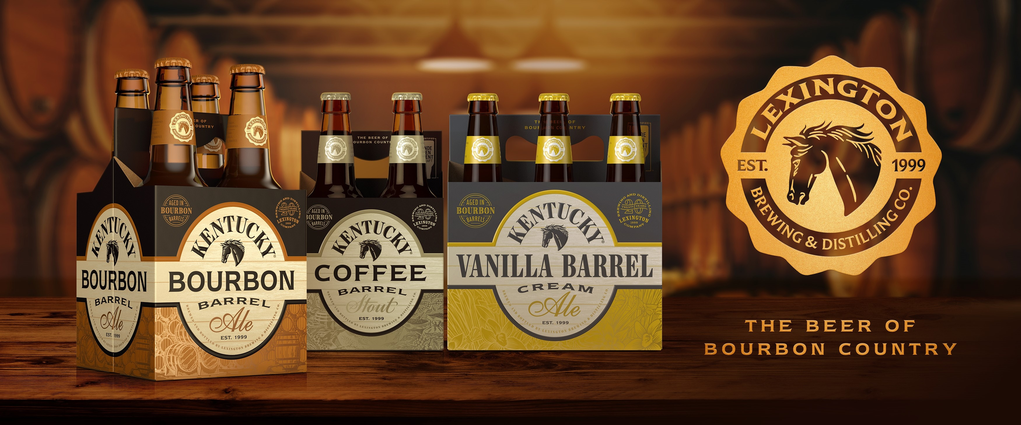 Lexington Brewing & Distilling Co. Redesigns Packaging For 20th Anniversary photo
