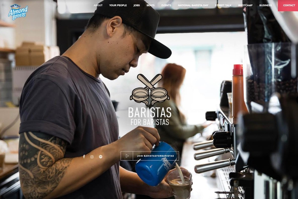 Daylight Agency Launches Baristas For Baristas Platform With Client Almond Breeze photo