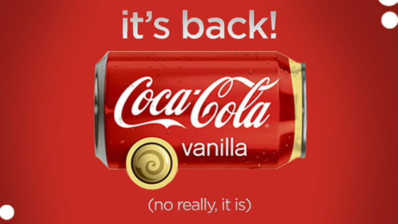 Here?s Where You Can Buy Vanilla Coke, Fanta Cherry & More In Sa! photo