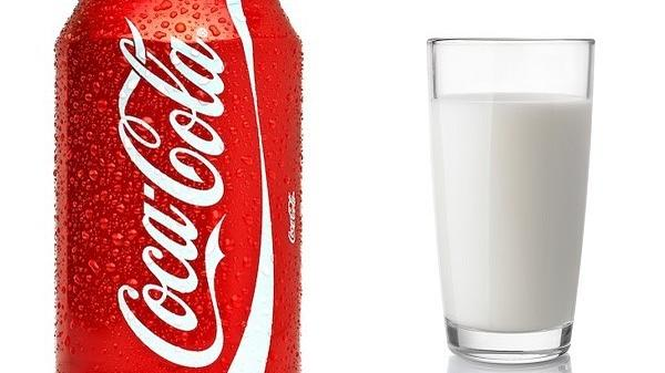 Watch: The Coke And Milk Drink That's Dividing The Internet photo
