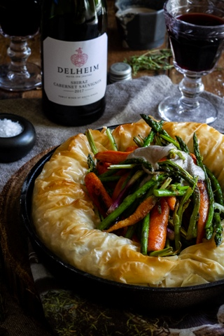 Chicken Pie with Porcini and Espresso Sauce photo