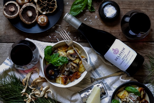 Magical Mushroom Pairings With A Vegan Wine from Delheim photo