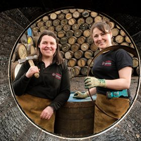 Diageo Recruits Uk?s First Female Apprentice Coopers photo