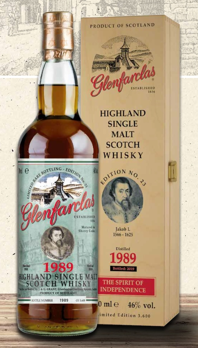 Glenfarclas Edition No. 23 From 1989 In Sight photo