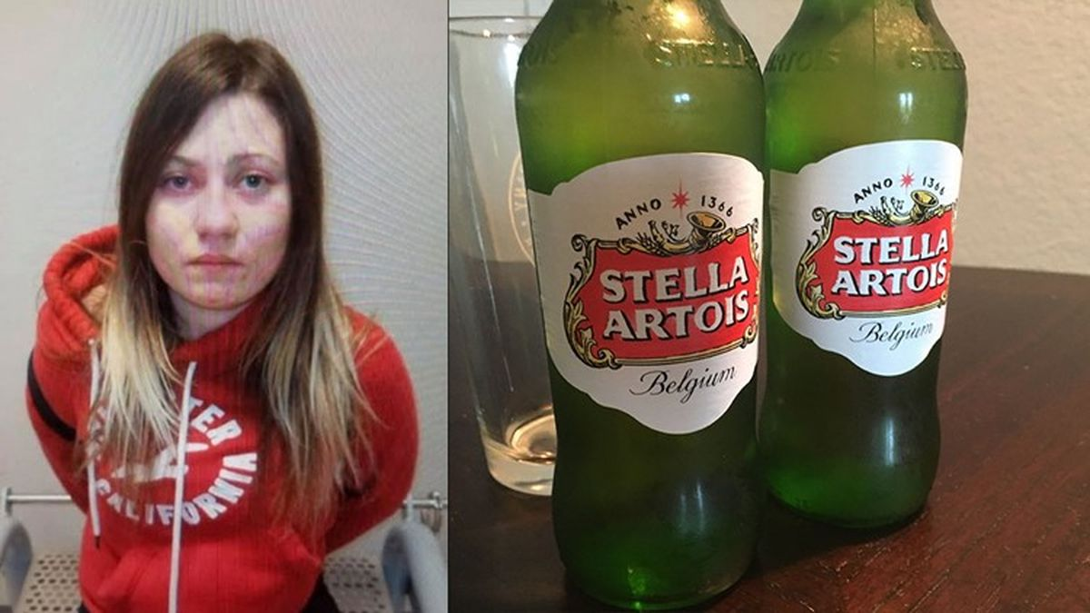 Woman Drank Six-pack Of Stella Artois In Target Dressing Room: Police photo