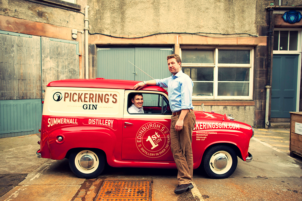 Pickering's Gin Is A Story Based On True Friendship photo