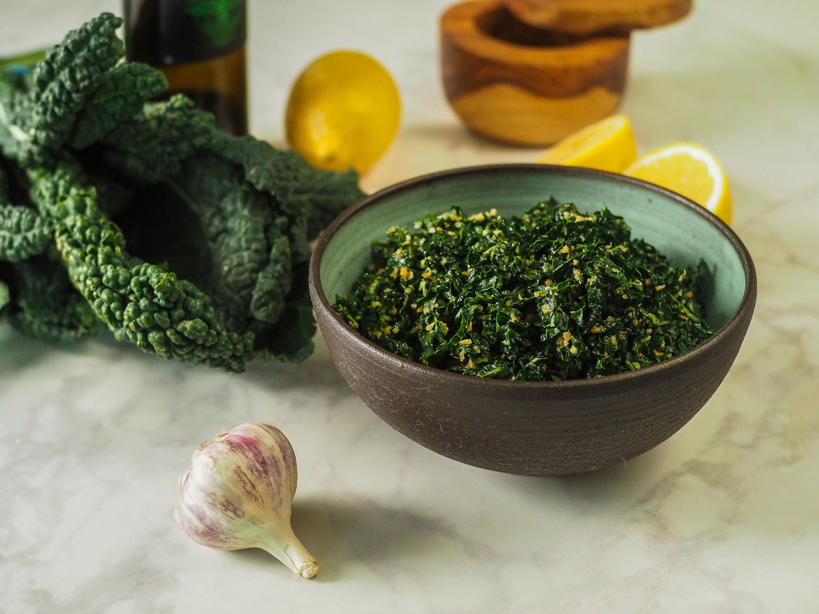 We Tried To Make Savio Volpe's Awesome Kale Salad At Home (with Delicious Results) photo