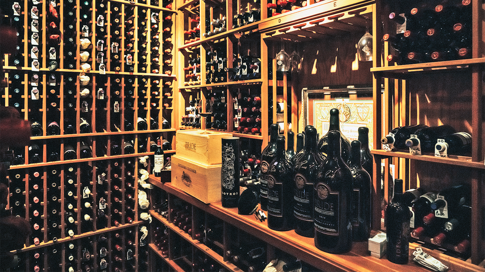 Private Cellars: In The Wine Cellar Of Tabasco's 'sauce Boss' photo