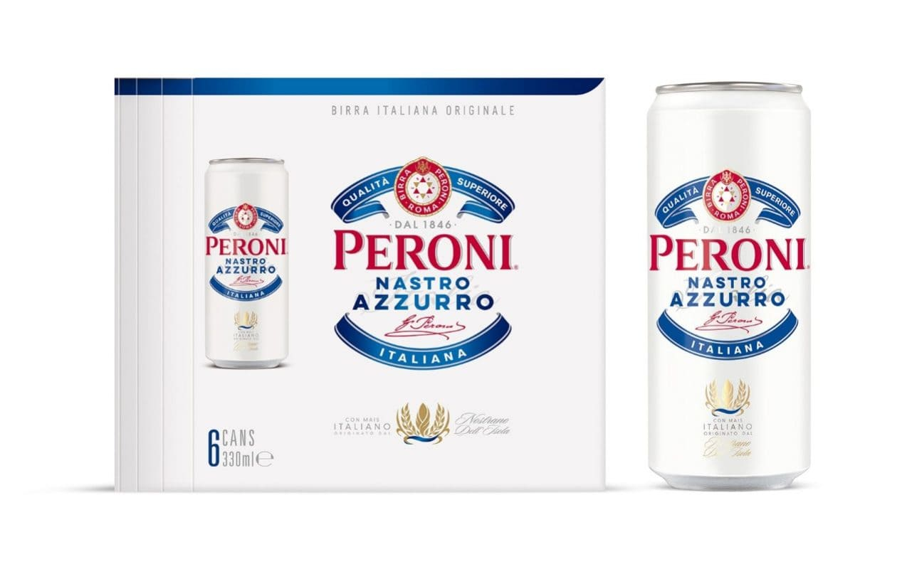 Peroni Tries To Take The Tinny Upmarket By Launching New Slimline Can Aimed At Young People photo