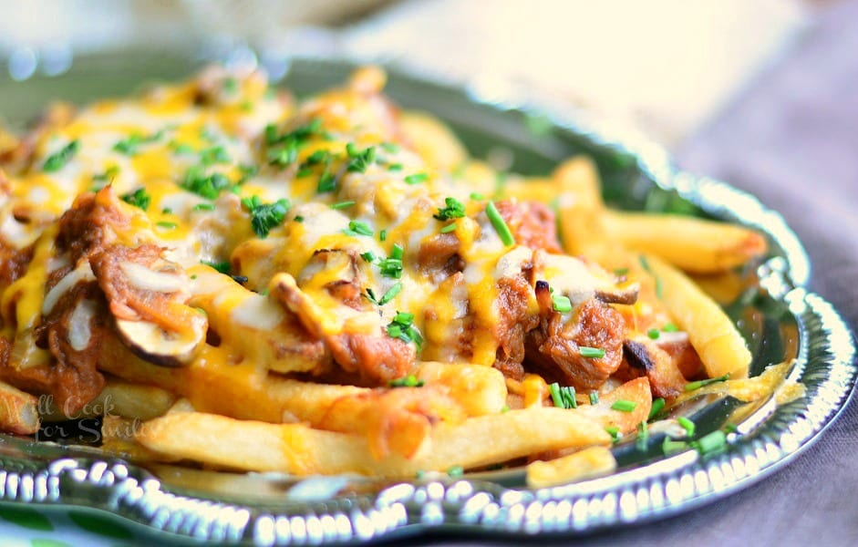 BBQ Pulled Pork Loaded Cheese Fries photo