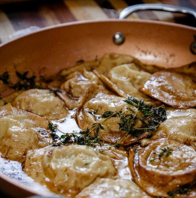 Ravioli filled with creamy mushrooms LR Dig Into Deliciousness And Thrilling Stories With Nederburg And Zola Nene