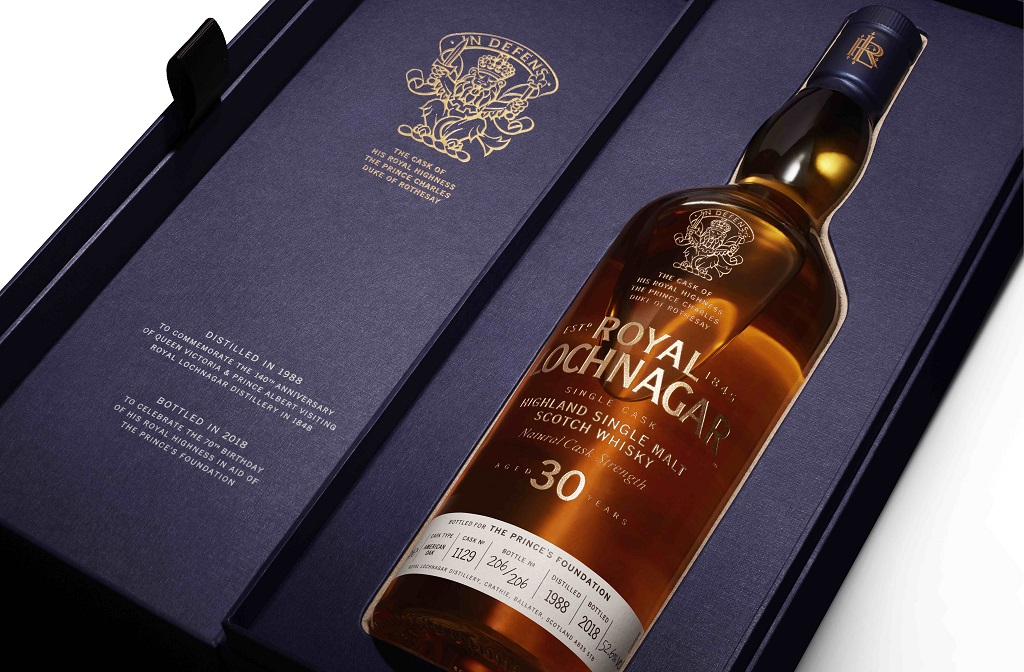 Get Ready To Bid For Bottles Of Prince Charles' Whisky photo