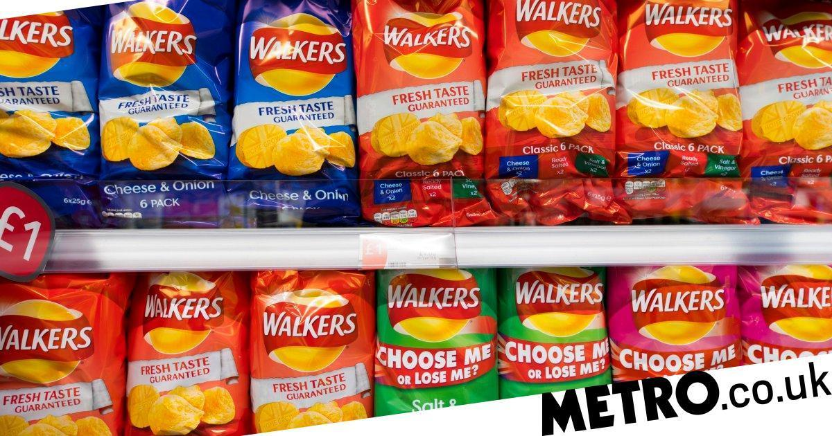 Walkers Has Recycled More Than 500,000 Crisp Packets In The Last Three Months photo