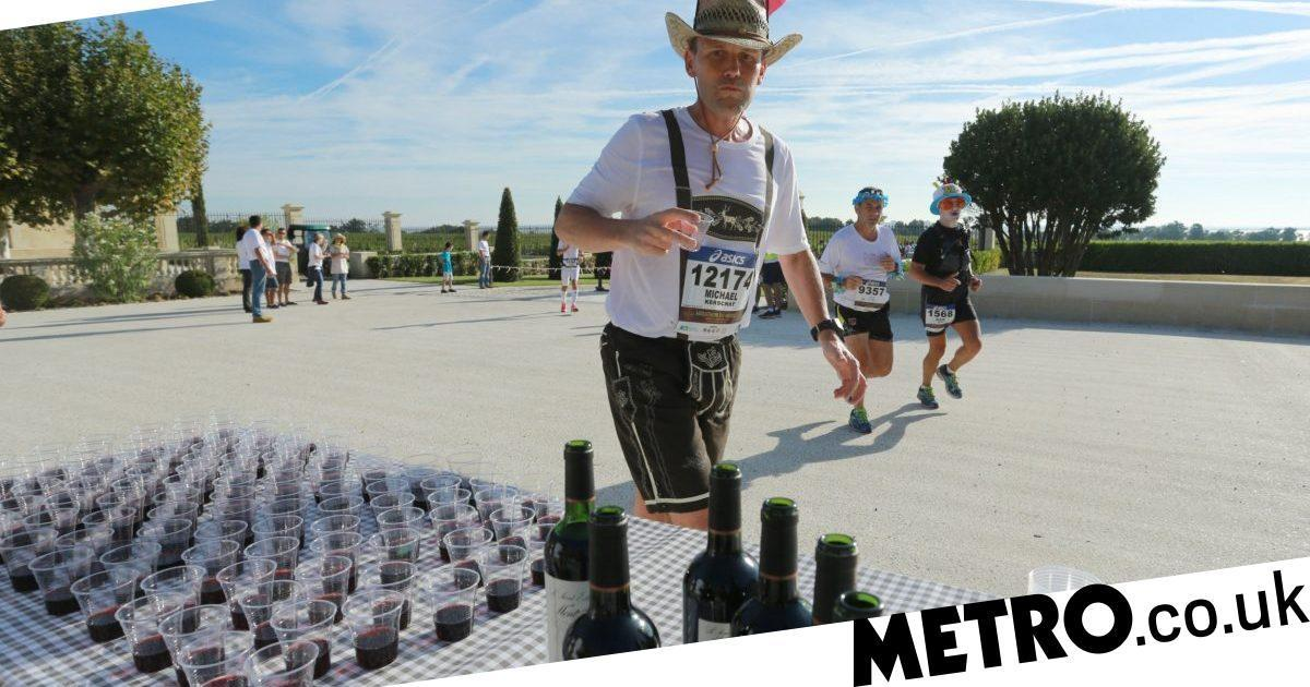 This French Marathon Allows Runners To Stop For Wine And Cheese photo